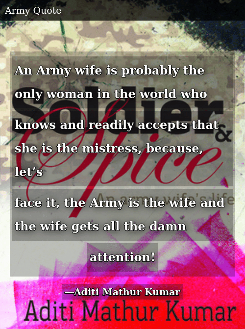 An Army Wife Is Probably the Only Woman in the World Who ...
