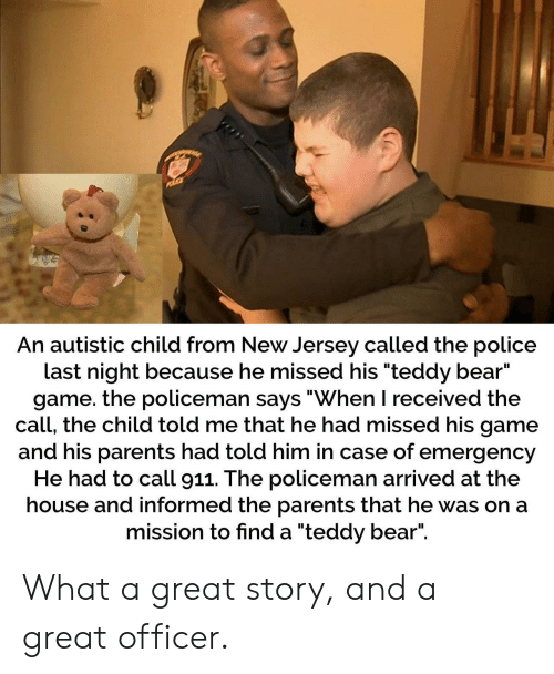 An Autistic Child From New Jersey Called the Police Last