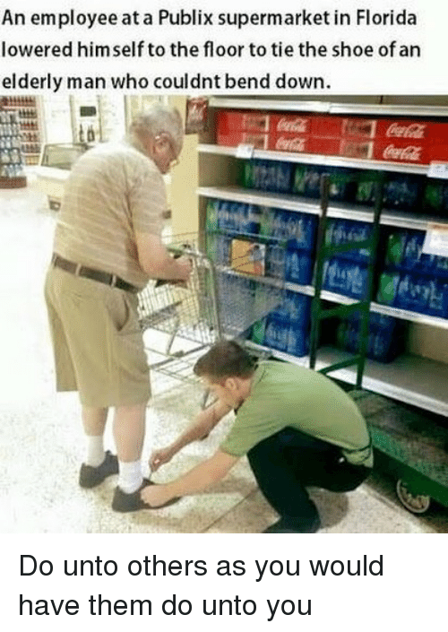 An Employee at a Publix Supermarket in Florida Lowered