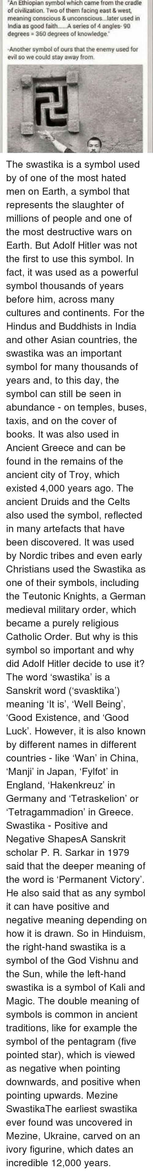 An Ethiopian Symbol Which Came From The Cradle Of Civilization Two
