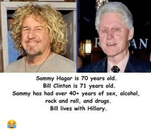 Sammy hagar sex story