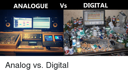 analog vs digital Digital-technology analog systems became popular among the general public  around the 1930s and were particularly utilized within two-way.