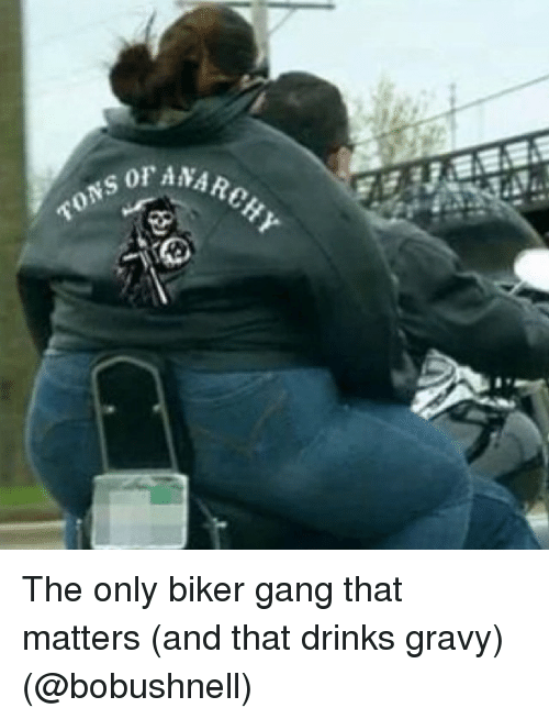 anarchy tons the only biker gang that matters and that 18033311 ✅ 25 best memes about bikers bikers memes,Biker Gang Meme