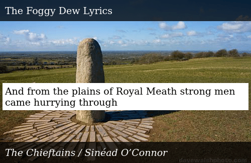 SIZZLE: And from the plains of Royal Meath strong men came hurrying through
