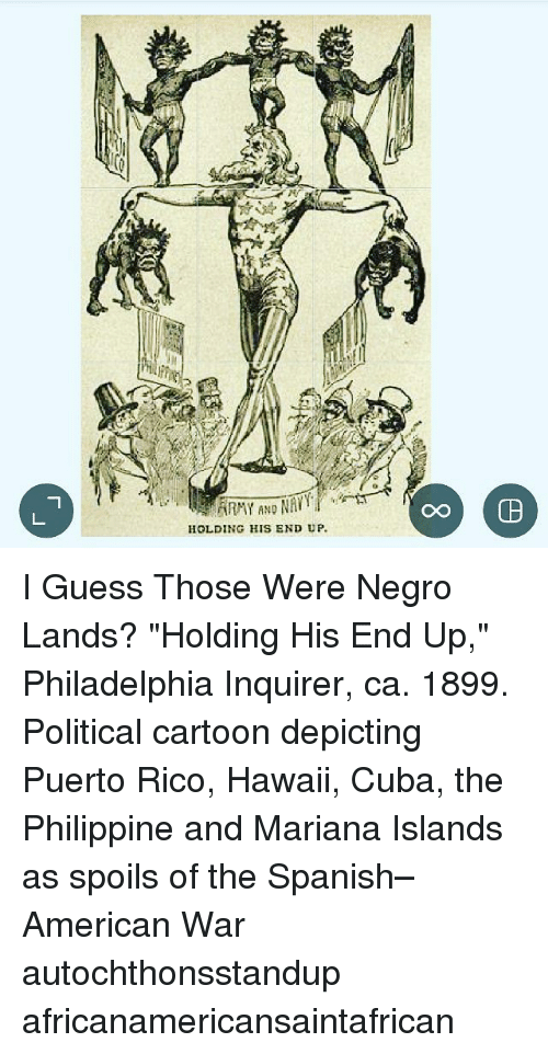 And HOLDING HIS END UP I Guess Those Were Negro Lands? Holding His