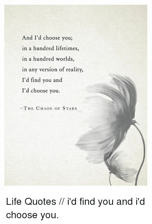 And I\'d Choose You in a Hundred Lifetimes in a Hundred ...
