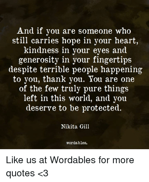 thank you heart and quotes and if you are someone who still carries