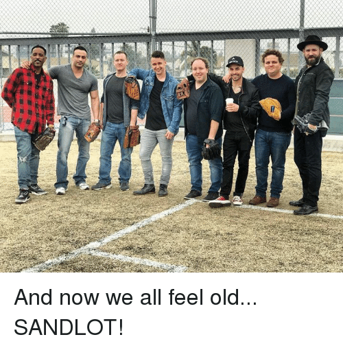 Mlb, Old, and Sandlot: And now we all feel old... SANDLOT!