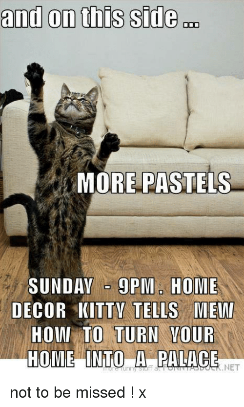 And On This Side More Pastels Sunday 9pma Home Decor Kittv Tells