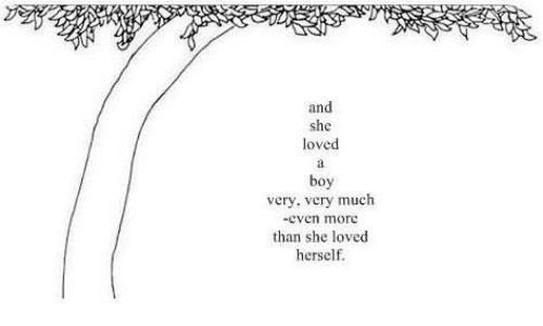 Boy, She, and More: and  she  loved  boy  very, very much  -even more  than she loved  herself