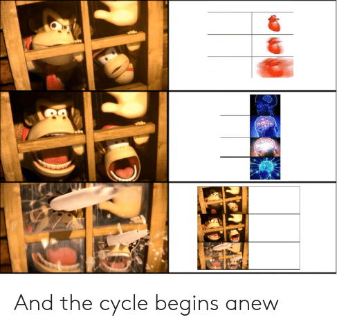 And, The, and Begins: And the cycle begins anew