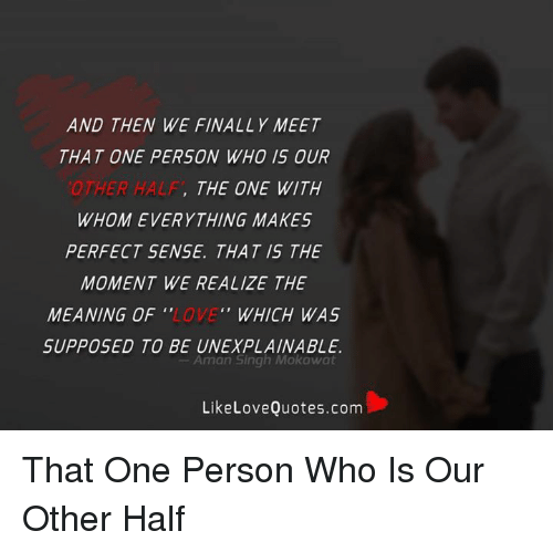 what makes a perfect person