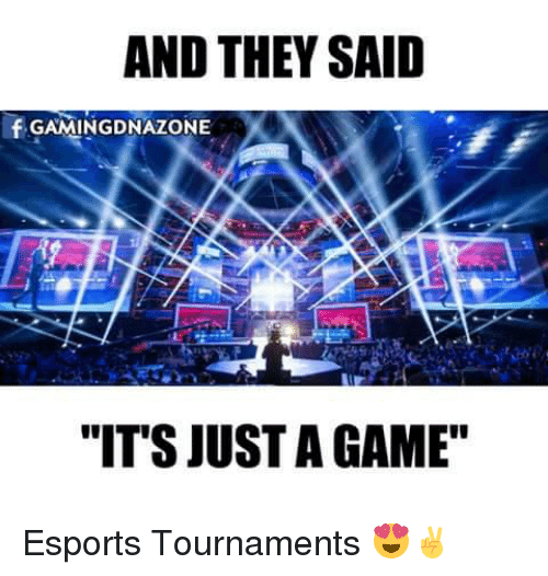 And THEY SAID F GAMING DNAZONE IT'S JUST a GAME Esports