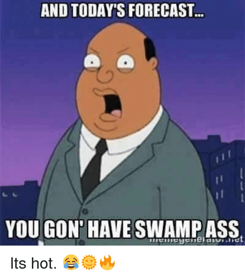 Mexican Word Of The Day And Todays Forecast You Gon Have Swamp Ass Its Hot