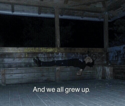 All, And, and Grew: And we all grew up