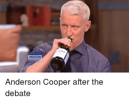 anderson anderson cooper after the debate 4618514 ✅ 25 best memes about anderson cooper anderson cooper memes