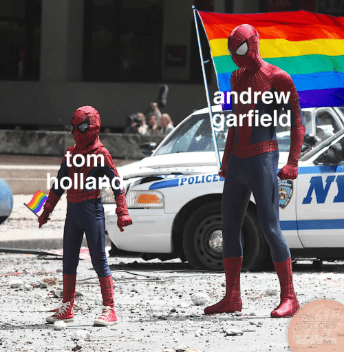 News, Police, and Garfield: andrew  garfield  tom  holland  POLICE  OLICE  RTMENT  FAN  CIRLORG  FAN-GIPL ORG  CELEB GOSSIP, NEWS  FANSTUFF AND MORE  ASW