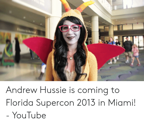 Andrew Hussie Is Coming to Florida Supercon 2013 in Miami