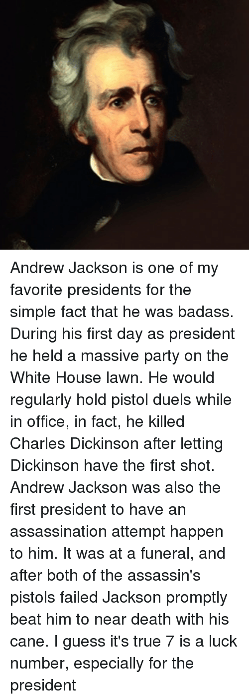 evaluating whether andrew jackson was a good president 8th grade lesson plan students will be examining andrew jackson's presidency to determine whether or not he was a how well did president andrew jackson.