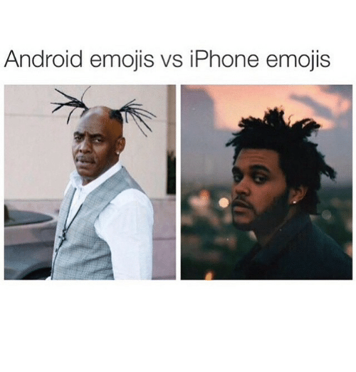 Android, Emoji, and Funny: Android emojis vs iPhone emojis