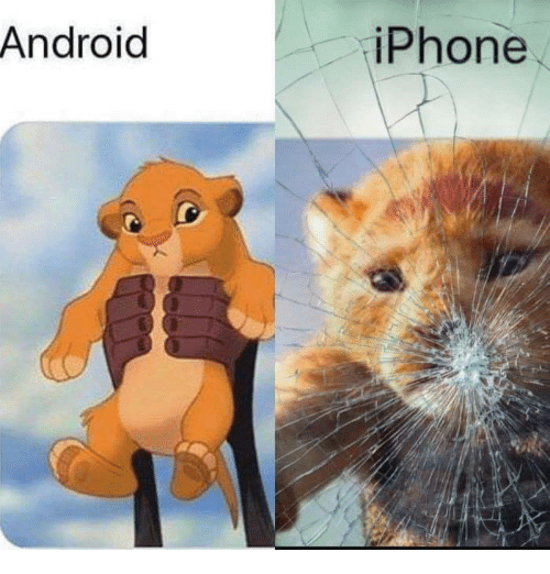 Android, Iphone, and Memes: Android  iPhone