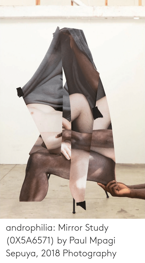Tumblr, Blog, and Http: androphilia: Mirror Study (0X5A6571) by Paul Mpagi Sepuya, 2018 Photography