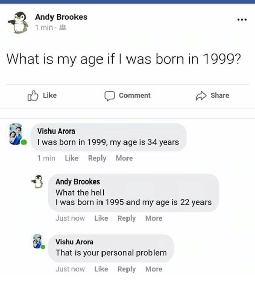 What is my correct age