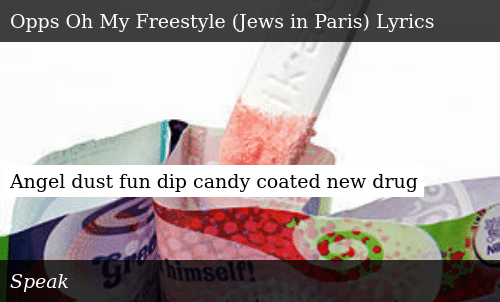 Angel Dust Fun Dip Candy Coated New Drug Meme On Meme