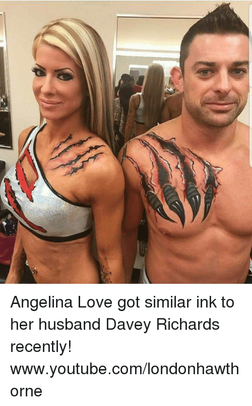 davey richards dating angelina love vs