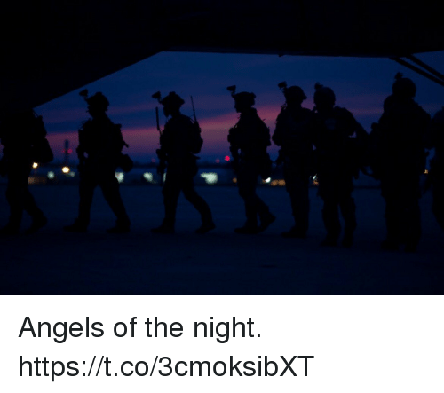 Memes, Angels, and 🤖: Angels of the night. https://t.co/3cmoksibXT