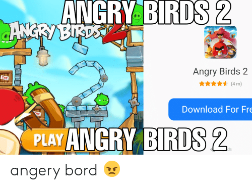 ANGRY BIRDS 2 ANGRY BIRDS Angry Birds 2 TNT 4 M Download for