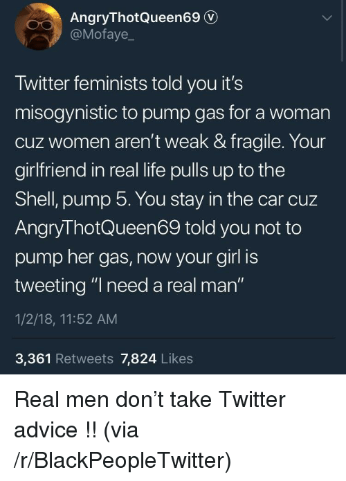 Angrythotqueen69 v twitter feminists told you its misogynistic to advice blackpeopletwitter and life angrythotqueen69 v motaye twitter feminists told you its publicscrutiny Choice Image