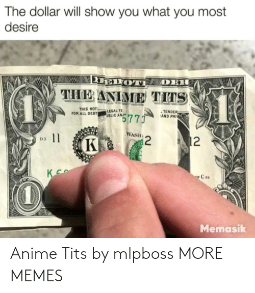 Anime, Dank, and Memes: Anime Tits by mlpboss MORE MEMES