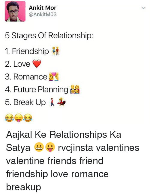 memes and romance ankit mor ankit m03 5 stages of relationship