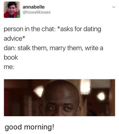Dating advice chat