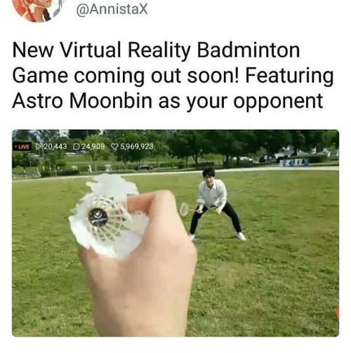 New Virtual Reality Badminton Game Coming Out Soon