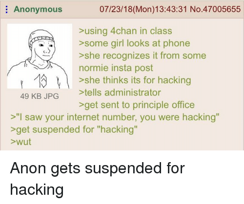 For that pictures of girl in class 4chan and