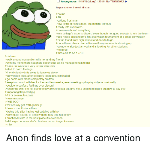 convention hookup stories