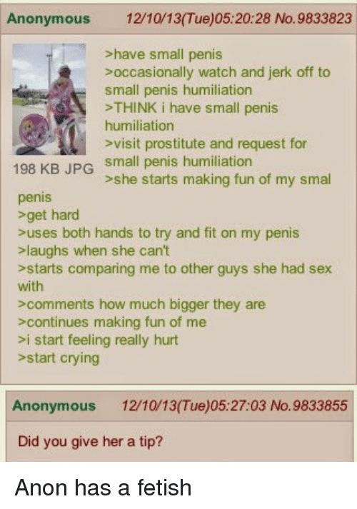 Fetish small sph are not