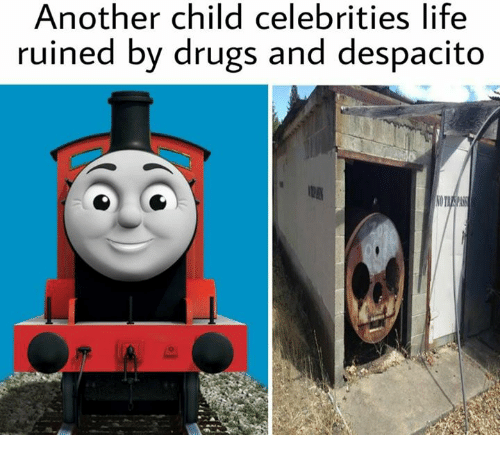 Drugs, Life, and Celebrities: Another child celebrities life  ruined by drugs and despacito