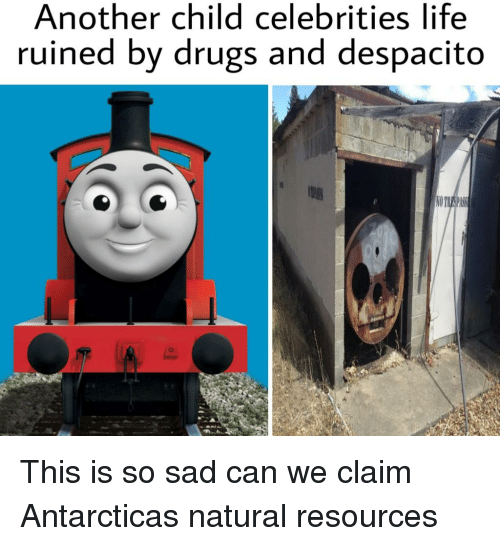 Drugs, Life, and Dank Memes: Another child celebrities life  ruined by drugs and despacito