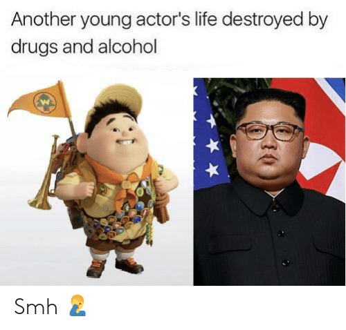 Another Young Actor's Life Destroyed by Drugs and Alcohol