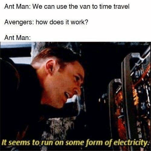 Run Work And Avengers Ant Man We Can Use The Van To Embed It