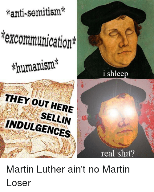 luther anti semitism