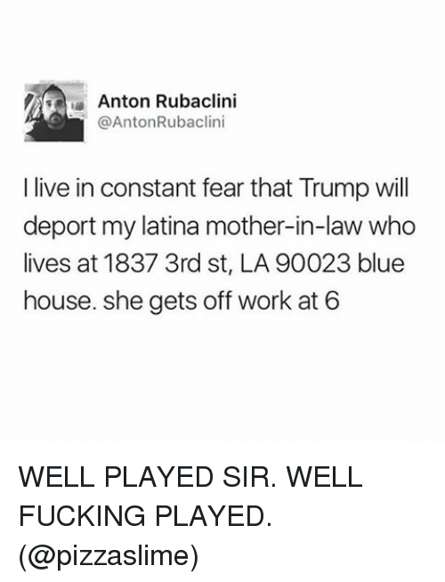 anton rubaclini anton rubaclini i live in constant fear that 16047656 ✅ 25 best memes about mother in law mother in law memes,Mother In Law Meme