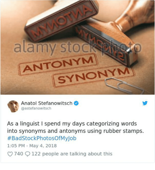 Synonyms Rubber And May ANTONYM SYNONYM Anatol Stefanowitsch Astefanowitsch As A Linguist