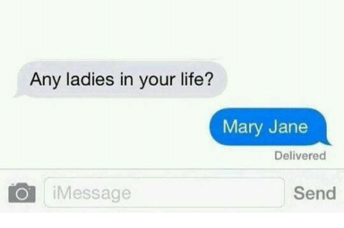 Send text to mary