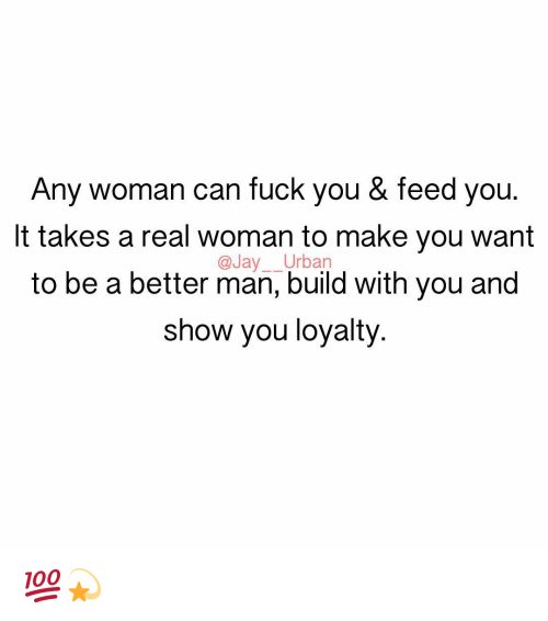 Any Woman Can