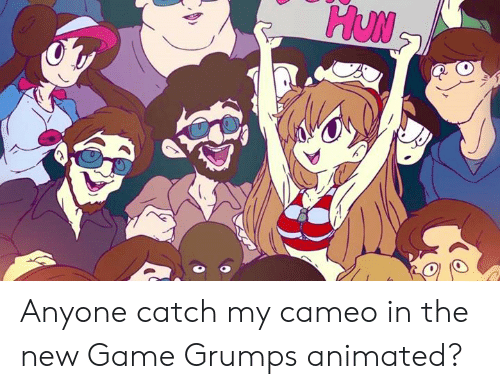Anyone Catch My Cameo In The New Game Grumps Animated