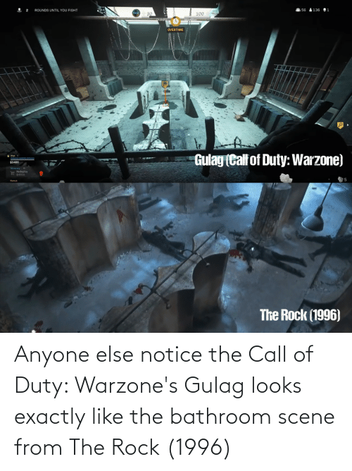 Anyone Else Notice The Call Of Duty Warzone S Gulag Looks Exactly